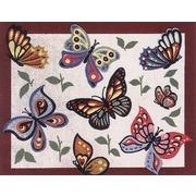 "Канва/ткань с нанесенным рисунком Gobelin-L ""Бабочки"""