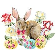 """Канва/ткань с нанесенным рисунком Матрёнин посад """"Пасхальный кролик"""""""