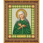"""Набор для вышивания бисером Паутинка """"Святая Мария Египетская"""""""