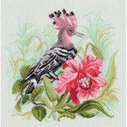 "Канва/ткань с нанесенным рисунком Матрёнин посад ""Райская птица"""