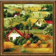 """Набор для вышивания крестом Риолис """"Сербский пейзаж"""""""