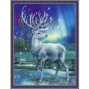 """Набор для вышивания крестом Риолис """"Белый олень"""""""