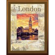 """Набор для вышивания крестом Риолис """"Города мира. Лондон"""""""