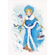 """Набор для вышивания крестом Риолис """"Снегурочка"""""""