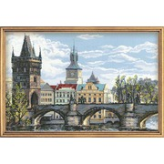 """Набор для вышивания крестом Риолис """"Прага. Карлов мост"""""""