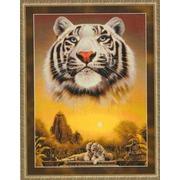 """Набор для вышивания крестом Kustom Krafts Inc. """"Призрак тигра"""""""