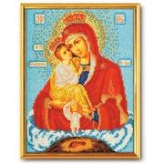 """Набор для вышивания бисером Радуга бисера (Кроше) """"Богородица Почаевская"""""""
