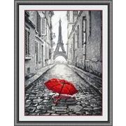 """Набор для вышивания крестом Овен """"В Париже дождь"""""""
