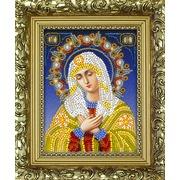 "Набор для вышивания бисером Вышиваем бисером ""Икона Божией Матери Умиление (+рамка)"""