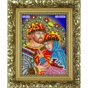 "Набор для вышивания бисером Вышиваем бисером ""Святые Петр и Феврония (+рамка)"""