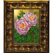 """Набор для вышивания бисером Вышиваем бисером """"Розовые розы"""""""