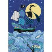 """Набор для вышивания крестом Риолис """"Пиратский корабль"""""""