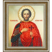 """Набор для вышивания бисером Золотое Руно """"Икона Святого Благоверного Великого Князя Александра Невского"""""""