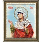 """Набор для вышивания бисером Золотое Руно """"Икона Святой Мученицы Юлии"""""""