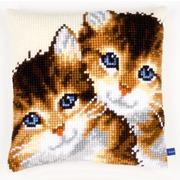 """Набор для вышивания крестом Vervaco """"Котята"""""""