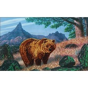"""Набор для вышивания бисером Глурия (Астрея) """"Медведь"""""""