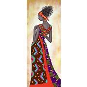 """Канва/ткань с нанесенным рисунком Матрёнин посад """"Кения"""""""