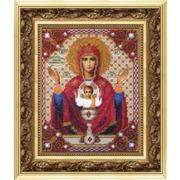 """Набор для вышивания бисером Чаривна Мить """"Икона Божьей Матери Неупиваемая чаша"""""""