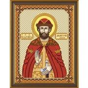 """Набор для вышивания бисером Nova sloboda """"Св. Блгв. Великий Князь Димитрий (Дмитрий) Донской"""""""