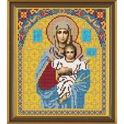"""Набор для вышивания бисером Nova sloboda """"Богородица Леушинская"""""""