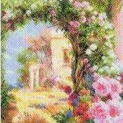 """Канва/ткань с нанесенным рисунком Матрёнин посад """"Греция в цвету"""""""