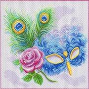 "Канва/ткань с нанесенным рисунком Матрёнин посад ""Маска"""