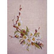 """Набор для вышивания крестом Марья искусница """"Цветение весны"""""""