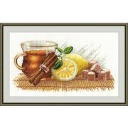 """Набор для вышивания крестом Овен """"Зимний чай"""""""
