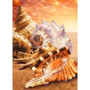 """Канва/ткань с нанесенным рисунком Матрёнин посад """"Морские сувениры"""""""