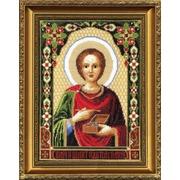 """Набор для вышивания крестом Чаривна Мить """"Икона Великомученика Пантелеймона"""""""