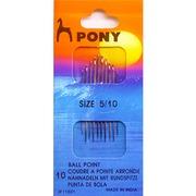 Аксессуары Pony Иглы для синтетических тканей