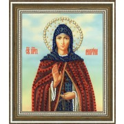 """Набор для вышивания бисером Золотое Руно """"Икона Святой Преподобной Марины"""""""