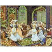 """Канва/ткань с нанесенным рисунком Матрёнин посад """"Восточные танцы"""""""
