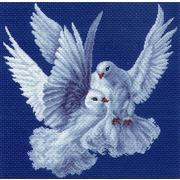 """Набор для вышивания крестом Матрёнин посад """"Нежность"""""""