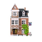 "Канва/ткань с нанесенным рисунком Матрёнин посад ""Амстердам"""