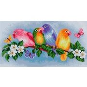 """Набор для выкладывания мозаики Вышиваем бисером """"Попугай"""""""