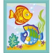 """Набор для вышивания бисером Риолис """"Морские рыбки"""""""