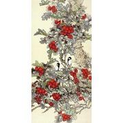 """Канва/ткань с нанесенным рисунком Конёк """"Лесные ягоды"""""""
