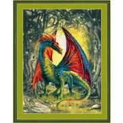 """Набор для вышивания крестом Риолис """"Лесной дракон"""""""