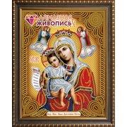 """Набор для выкладывания мозаики Алмазная живопись """"Икона Богородица Достойно есть (Милующая)"""""""