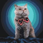"Канва/ткань с нанесенным рисунком Матрёнин посад ""Джентльмен"""