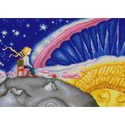 """Канва/ткань с нанесенным рисунком Конёк """"Маленький принц"""""""