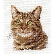 """Набор для вышивания крестом Алиса """"Европейский кот"""""""