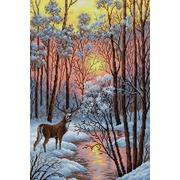 """Набор для выкладывания мозаики Вышиваем бисером """"В лесу"""""""