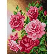 """Набор для выкладывания мозаики Вышиваем бисером """"Розы"""""""