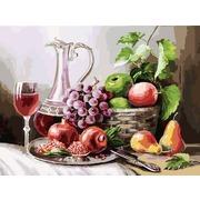 """Набор для раскрашивания Белоснежка """"Натюрморт с фруктами"""""""