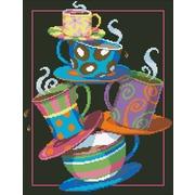 """Набор для выкладывания мозаики Паутинка """"Кофе, чай!"""""""