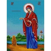 """Канва/ткань с нанесенным рисунком Конёк """"Богородица Геронтисса"""""""