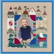 """Набор для вышивания крестом Риолис Панно для фотографии """"Рыцарский замок"""""""
