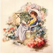 """Набор для вышивания крестом Марья искусница """"Летний сад"""""""